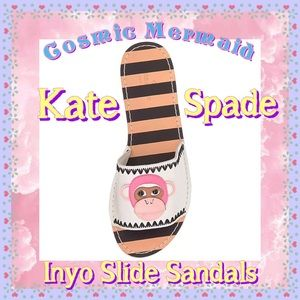 $100🌼🐵Kate Spade Inyo Monkey Slide Sandals🐵🌼